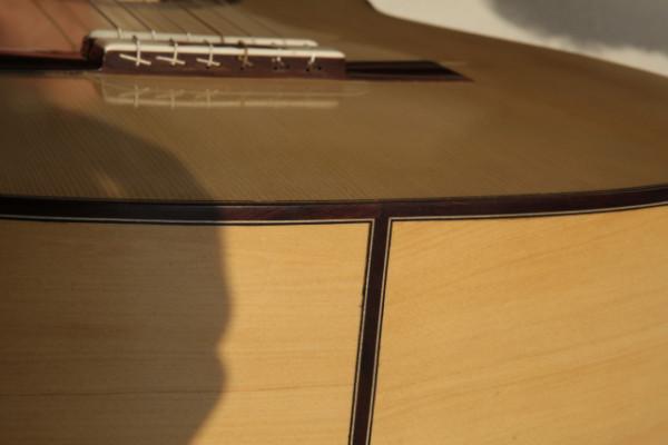 Guitarra Artesana Abeto y Ciprés