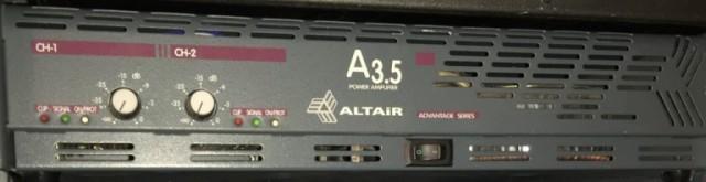 Etapa de potencia Altair A 3.5