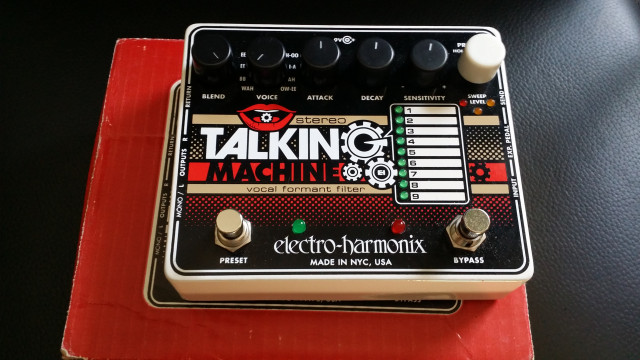 EHX TALKING MACHINE
