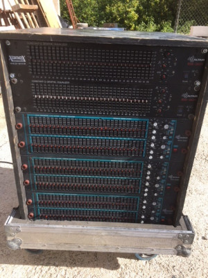 Rack de Ecualizadores Altair completo o por piezas