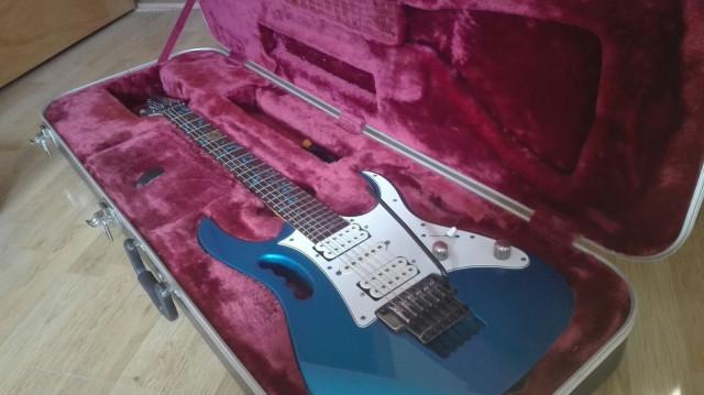 Ibanez Jem 7V SBL(sparkle blue)
