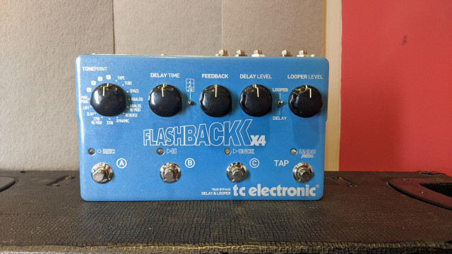 Flashback x4 TC Electronics Delay Pedal