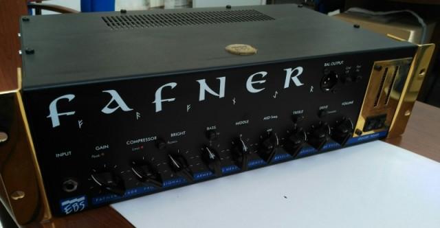 Amplificador para bajo EBS Fafner Ed. 10º aniversario