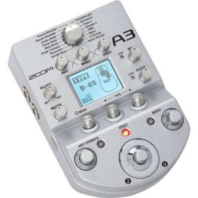Zoom A3 para guitarra acústica