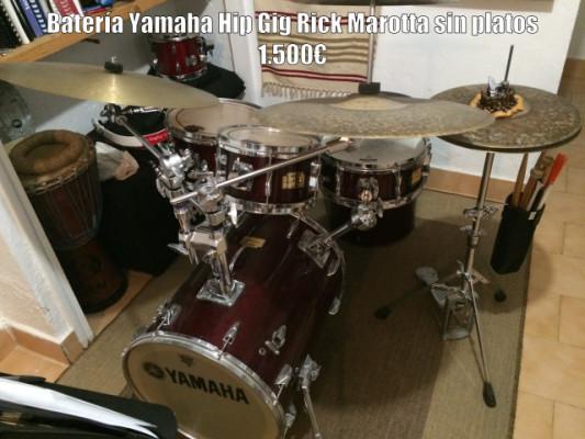 Batería Yamaha Hip Gig Rick Marotta