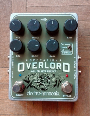 Electro Har­monix Over­lord Over­drive/​Boost