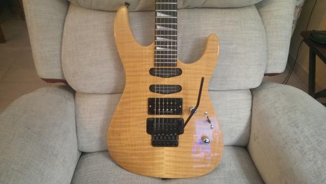 Jackson Soloist SL3 Japonesa. RESERVADA.