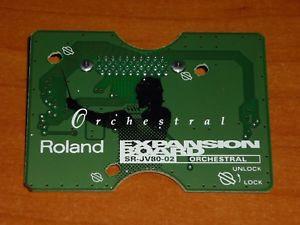 Roland SR JV Orchestral - envio incluido