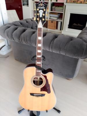 D'Angelico Excel Bowery guitarra electroacústica