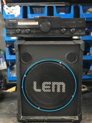 Altavoces pasivos Lem + Amplificador pioneer