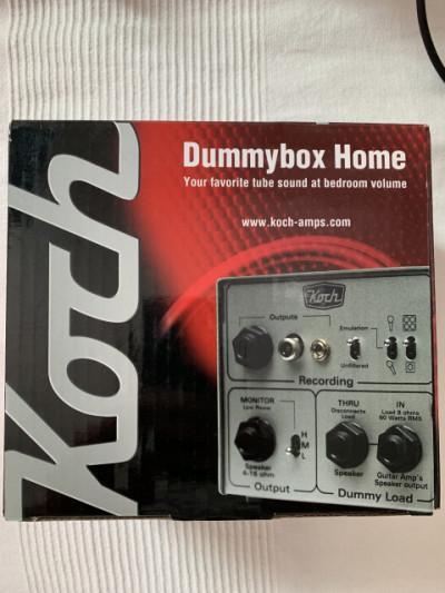Koch Amps Dummybox Home