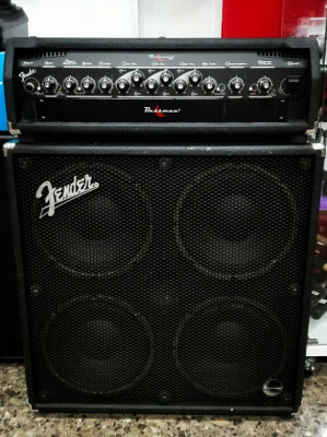 Stack Fender Bassman 400 + pantalla 4x10