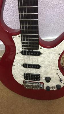 Guitarra Electr. PARKER P38 made in Korea