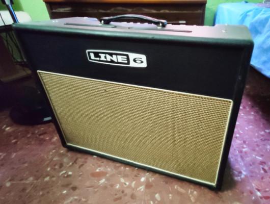 Vendo amplificador Line 6 FLEXTONE XL 2x12 + Pedalera FBV Longboard