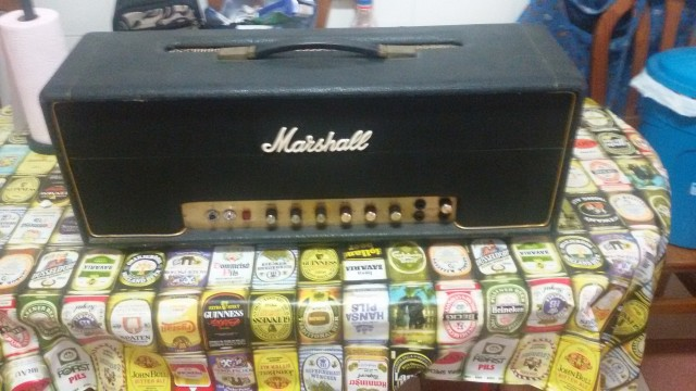 marshall jmp super bass 73 trasformado para guitarra