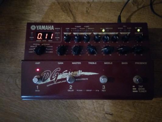 Pedalera Yamaha dg-stomp