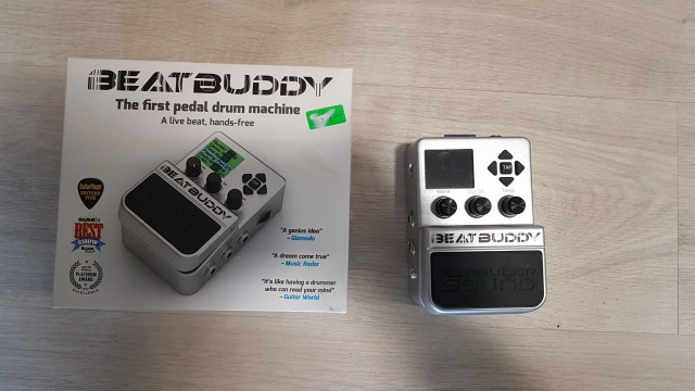 Beatbuddy pedal guitarra