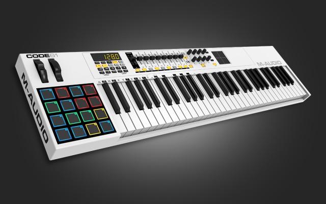 teclado m audio code 61 para estrenar o cambio