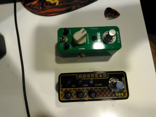 Mooer day trípper (ac30) green mile (tubescreammer)