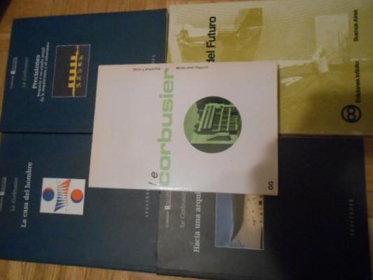 5 libros de Le Corbusier