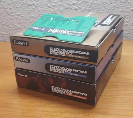 Pack Roland SR-JV80-02-03-16-98