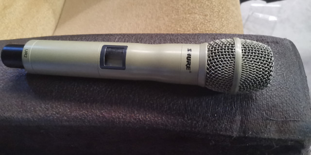 Microfonos shure ur2 ksm9