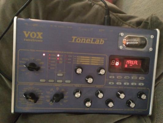 Pedal Vox Tonelab distorsion y efectos