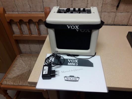 vendo ampli pedalera y mini ampli vox