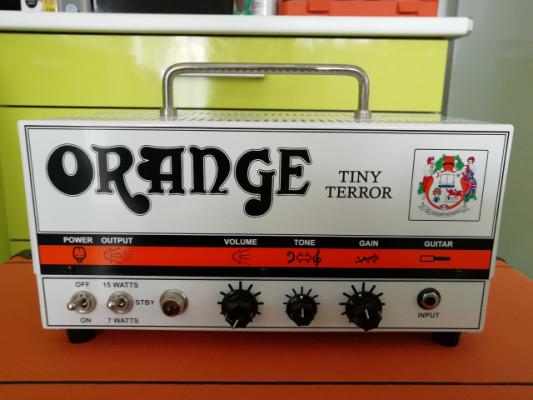 Orange Tiny Terror Head