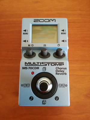 Pedal Zoom MS-70 CDR