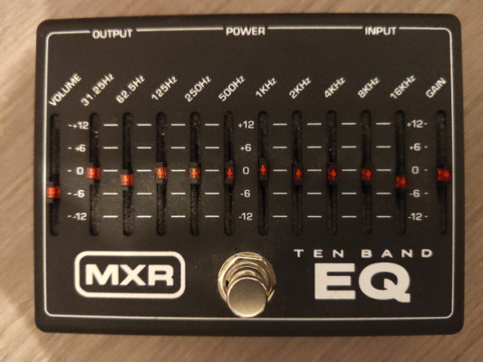 MXR M108 EQ gráfico 10 bandas