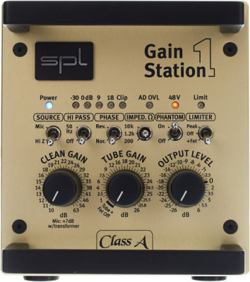 SPL GAINSTATION 1 preamp pura clase A mint condition