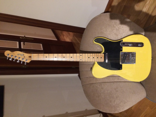 o cambio Fender telecaster japan 89 Butterscotch Blonde