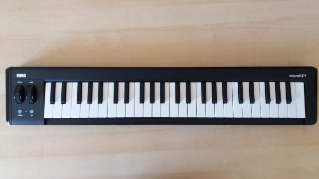 TECLADO MIDI KORG MICROKEY 49 MKII