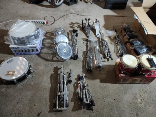 Bateria y percusión varios