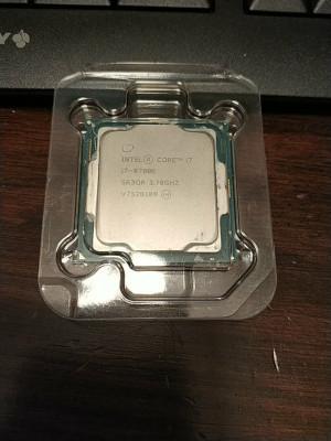 Procesador Intel i7-8700K