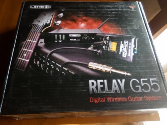 Inalámbrico digital 2,4ghz (no analogico)para guitarra o bajo Line 6 G55