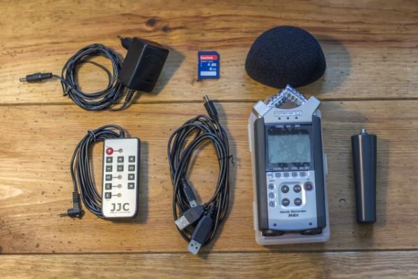 Pack grabadora Zoom H4N