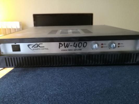 Etapa 400W de potencia con 2 pantallas 600W