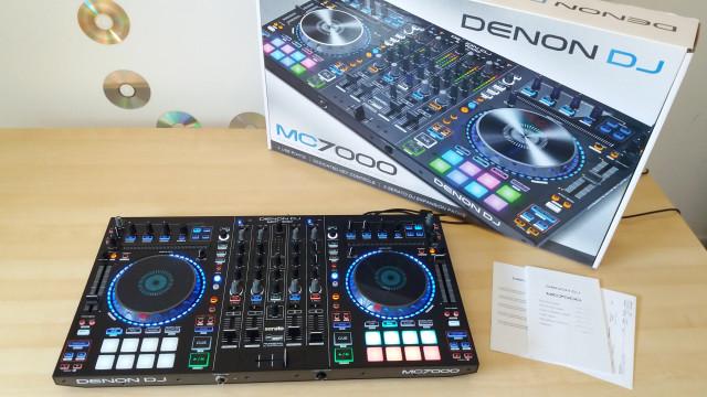 CONTROLADORA DJ DENON MC7000