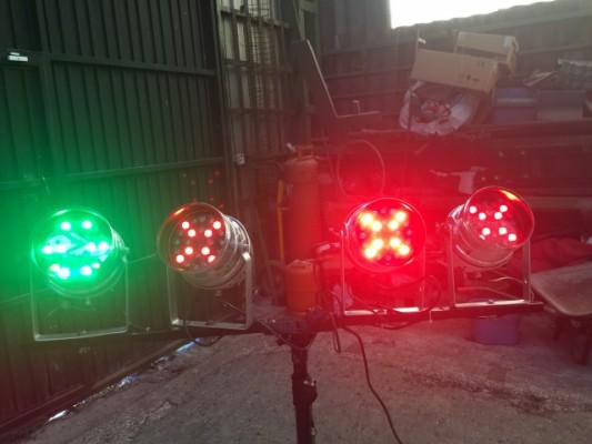 Barra de 4 focos LED PAR 56