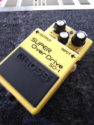 Boss SD-1 Overdrive KEELEY ULTRA