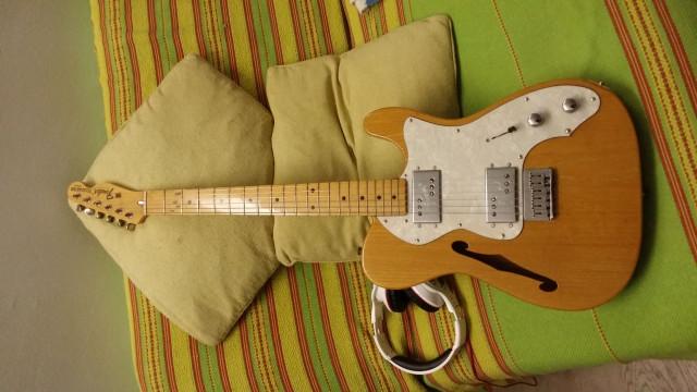 Fender telecaster thinline 1996 50 Aniversario