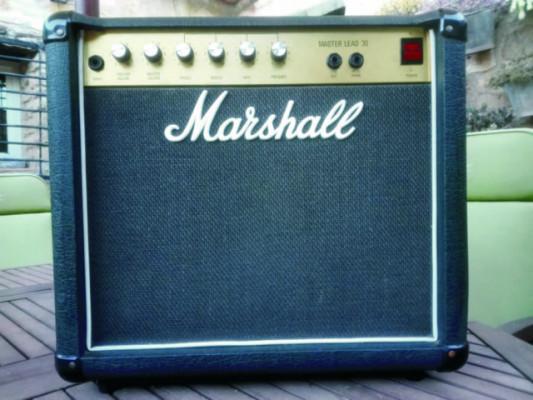MARSHALL 5010 MASTER LEAD 30 - 30w. - 1x12 - 1990 (mueble pequeño)