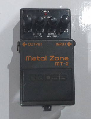 Pedal Metal Zone MT2