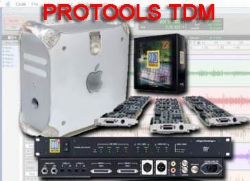 Sistema completo Protools TDM