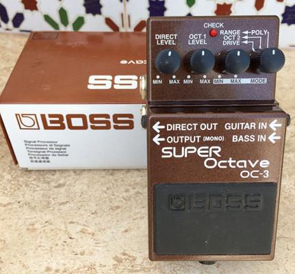 Boss OC-3 Super Octave ( Envío incluido )