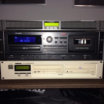 Tascam CD-A580 (CD, Cassette y USB)