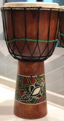Instrumento de Percusión - TIMBAL o ATABAQUE
