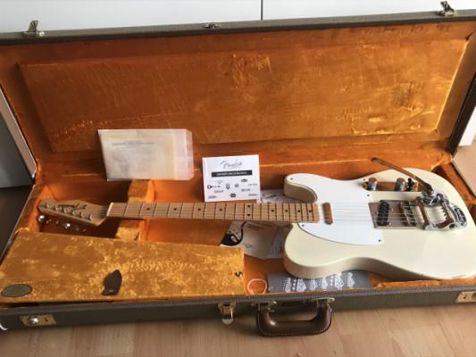 Fender Telecaster AVRI 58, con puente Callaham, y Bigsby
